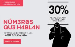 Campaña en el Día Mundial del VIH