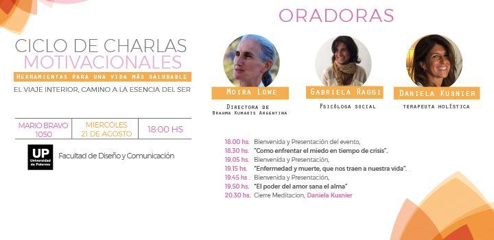 Ciclo Gratuito Charlas Motivacionales Centro De