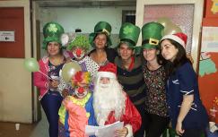 Papá Noel y CDR juntos en hospitales