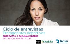 Protagonistas Deportivos: Evelina Cabrera