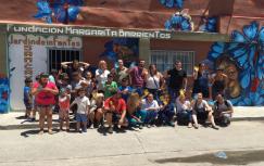 Rossi en la Fundación Margarita Barrientos