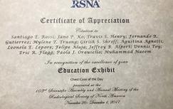 Un especial agradecimiento de RSNA a Centro Rossi